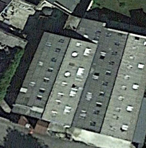 une image qui donne peu d'idée sur les dimensions de la tannerie qui compta jusqu'à 35 ouvriers