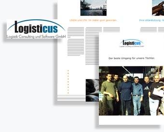 Imagebroschüre Logisticus, Hamburg