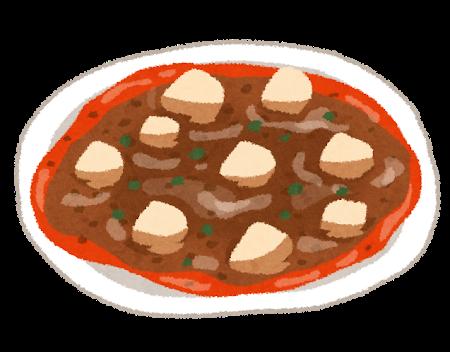 麻婆豆腐の染み抜き方法
