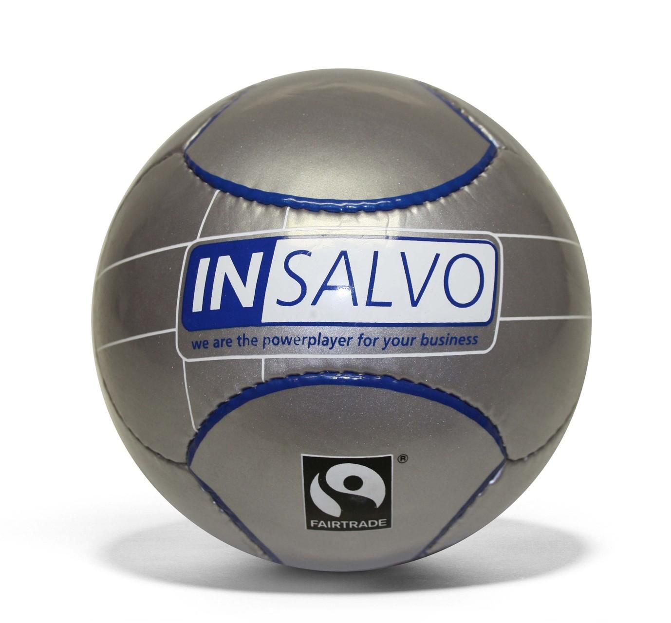 MINI CLUB - Semi-PU-Kunstleder, Durchmesser ca. 15cm - Give-Away Promotionball für INSALVO
