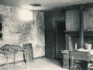 Ferme d'Antan, l'intérieur en 1986, avant travaux