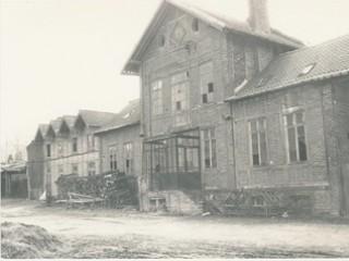 Ferme d'Antan, le bâtiment principal en 1986, avant travaux