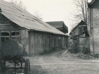 Ferme d'Antan, les dépendances en 1986, avant travaux