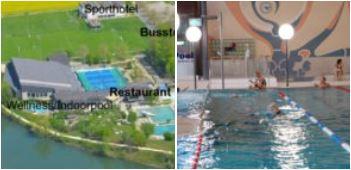 Sportzentrum Schweiz mit Hotelzimmern