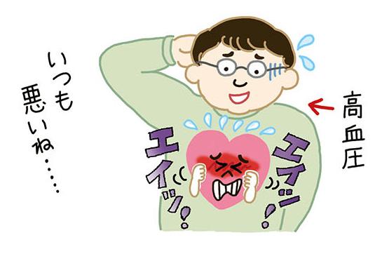 【ムック/2015】「NHKチョイス@病気になったとき・血管若返り教室」(主婦の友社)本文イラスト