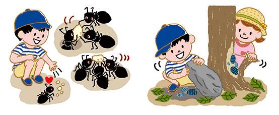 【雑誌/2013】「ディズニージュニア夏」(講談社)記事イラスト