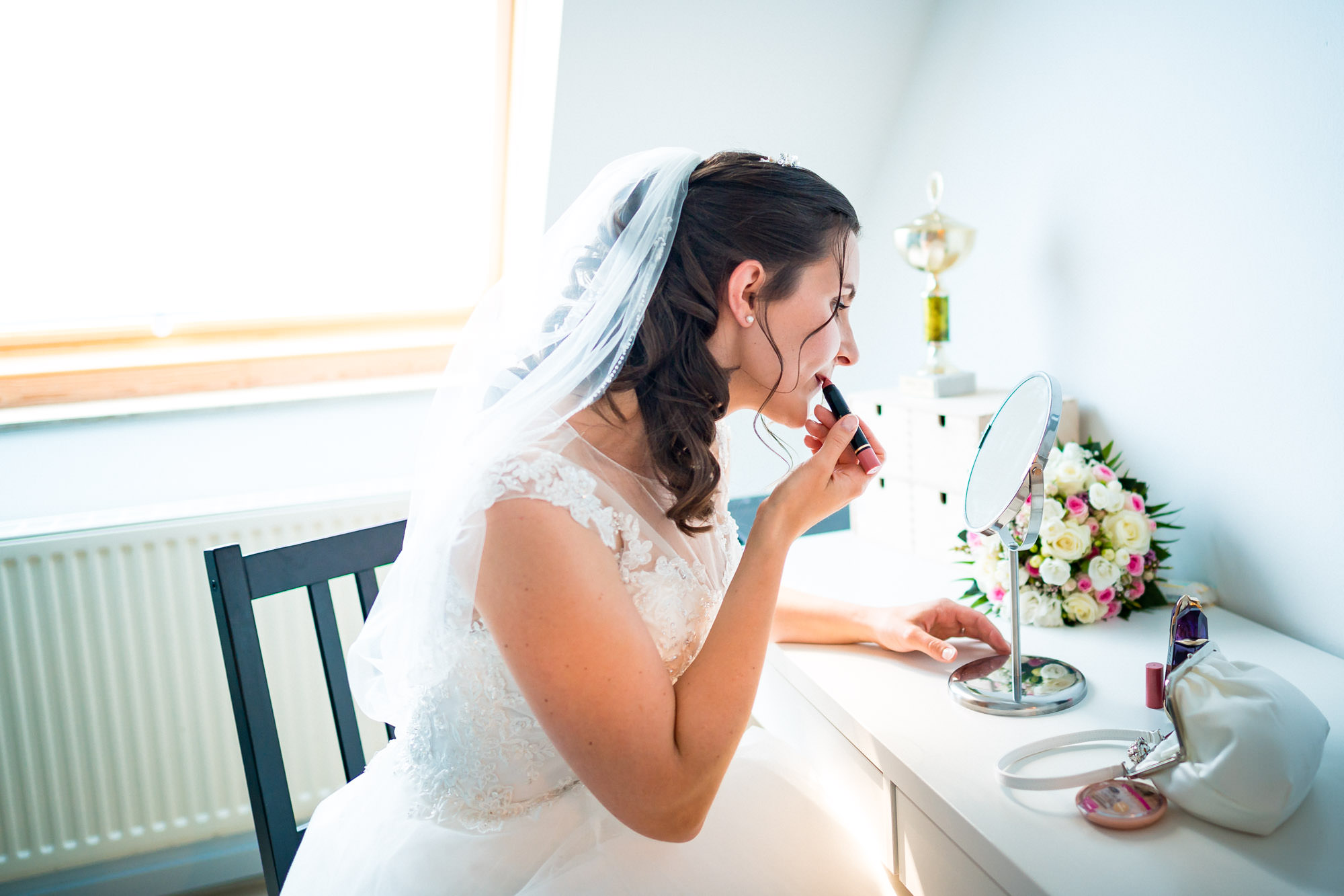 selbst ist die Braut - Getting Ready - FOTOFECHNER