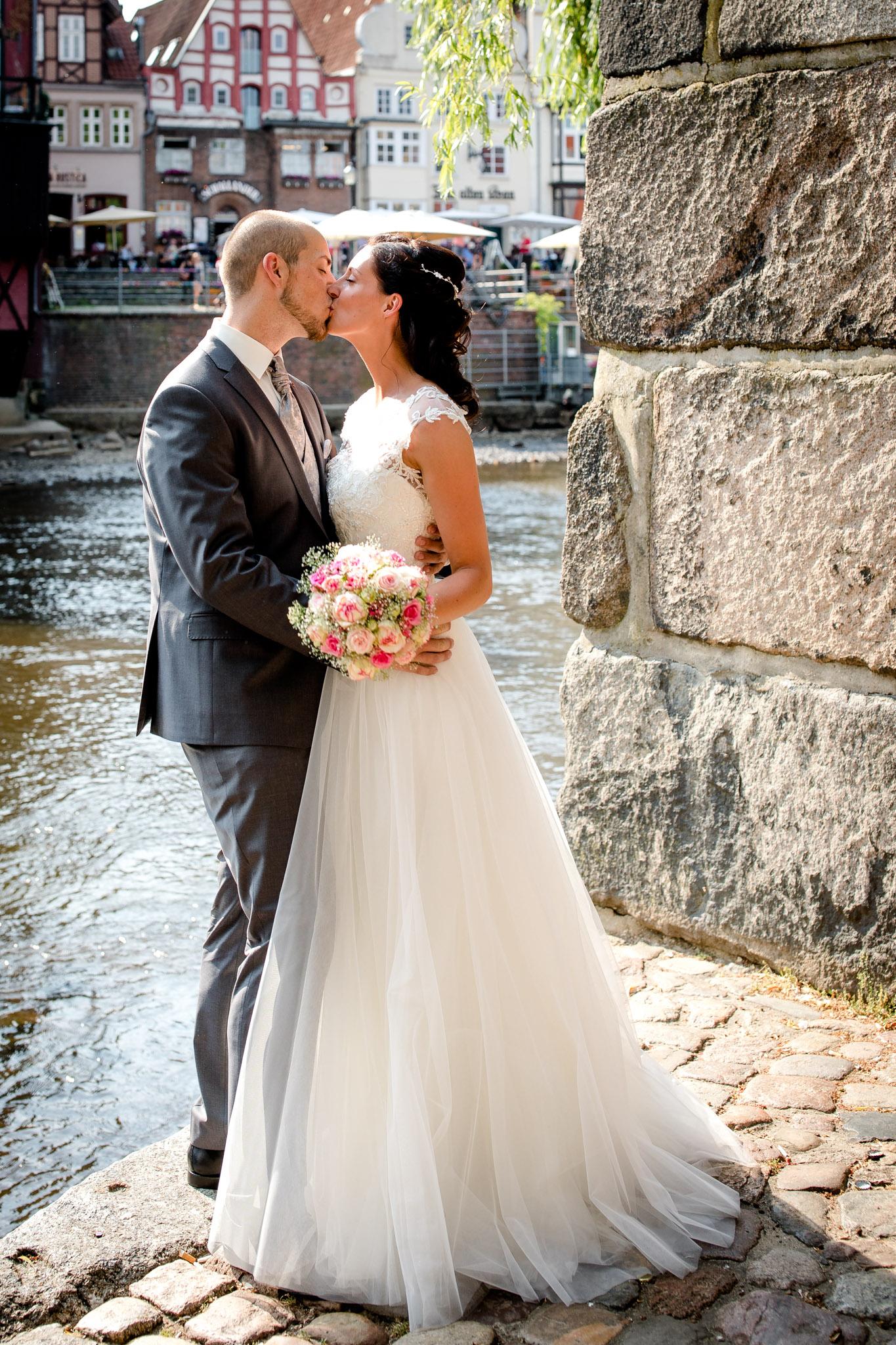 Brautpaar in Lüneburg an der Ilmenau