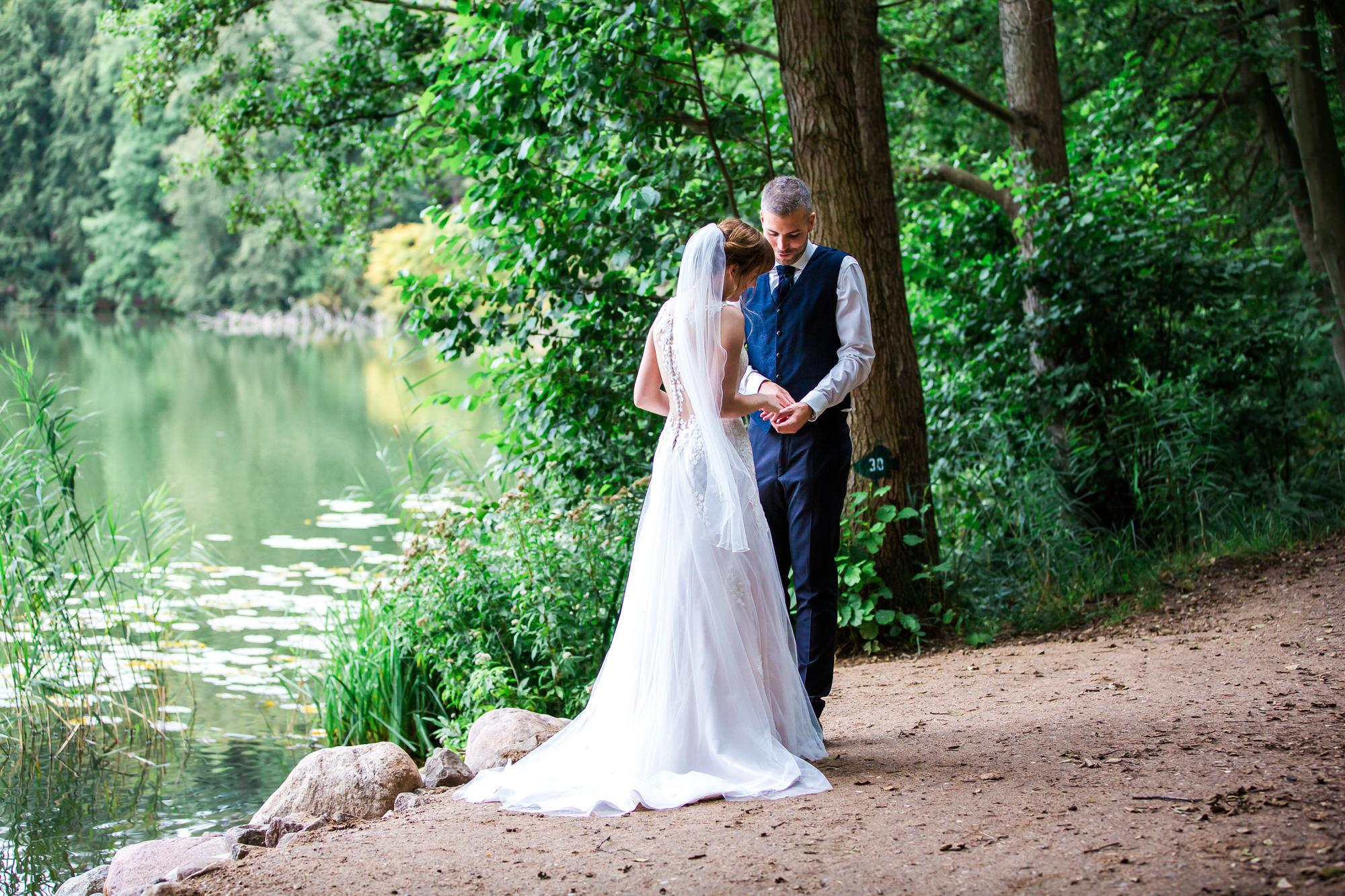 Brautpaarshooting am Schalsee bei Mölln