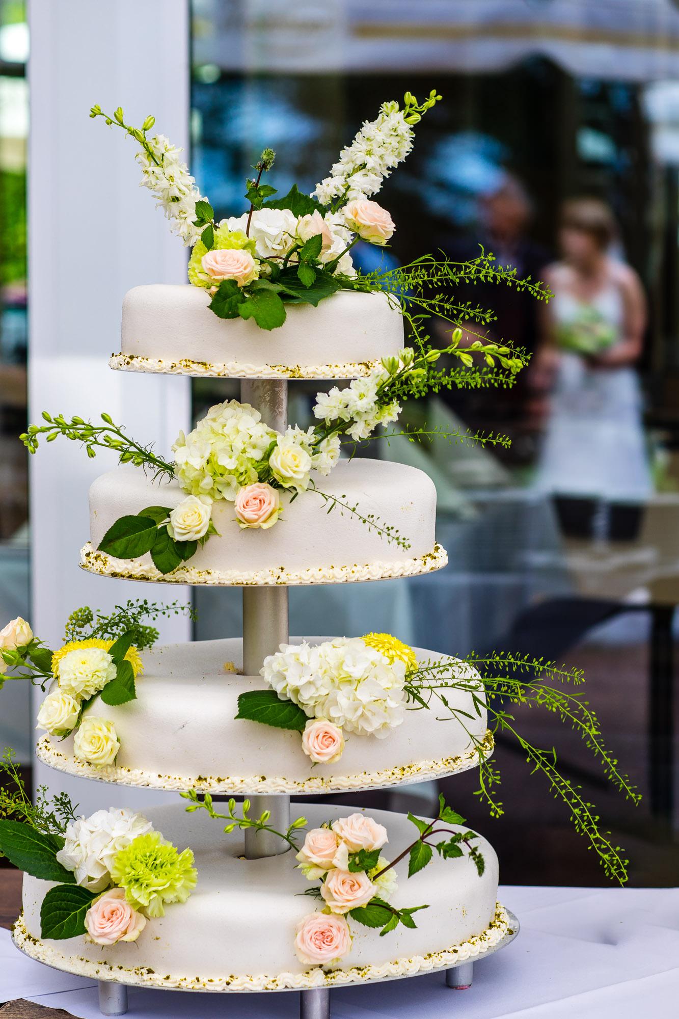 Hochzeitstorte in Mölln