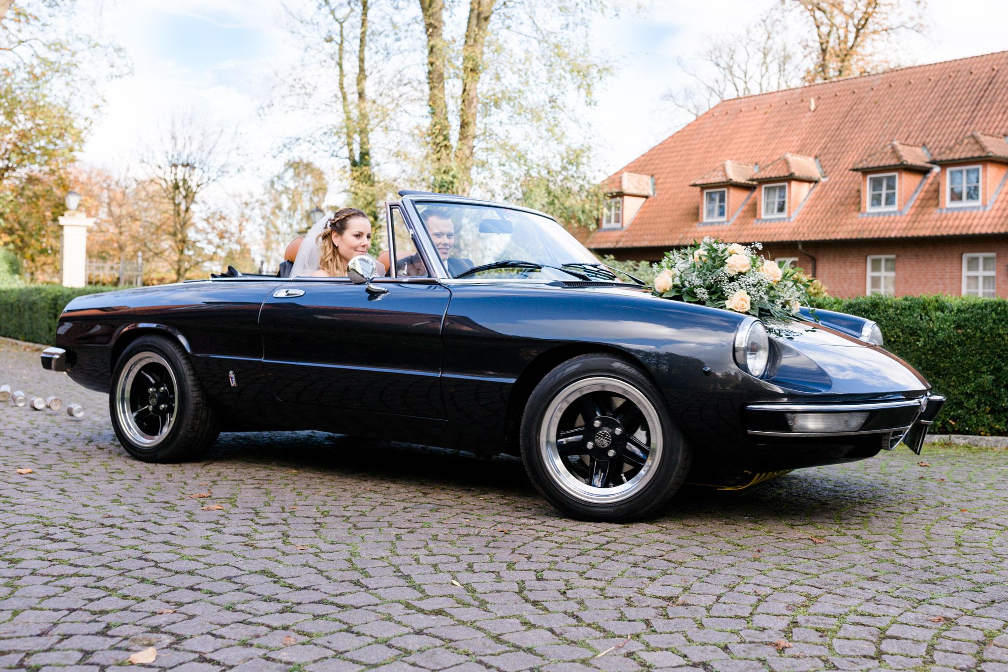 Hochzeit mit Alfa Romeo