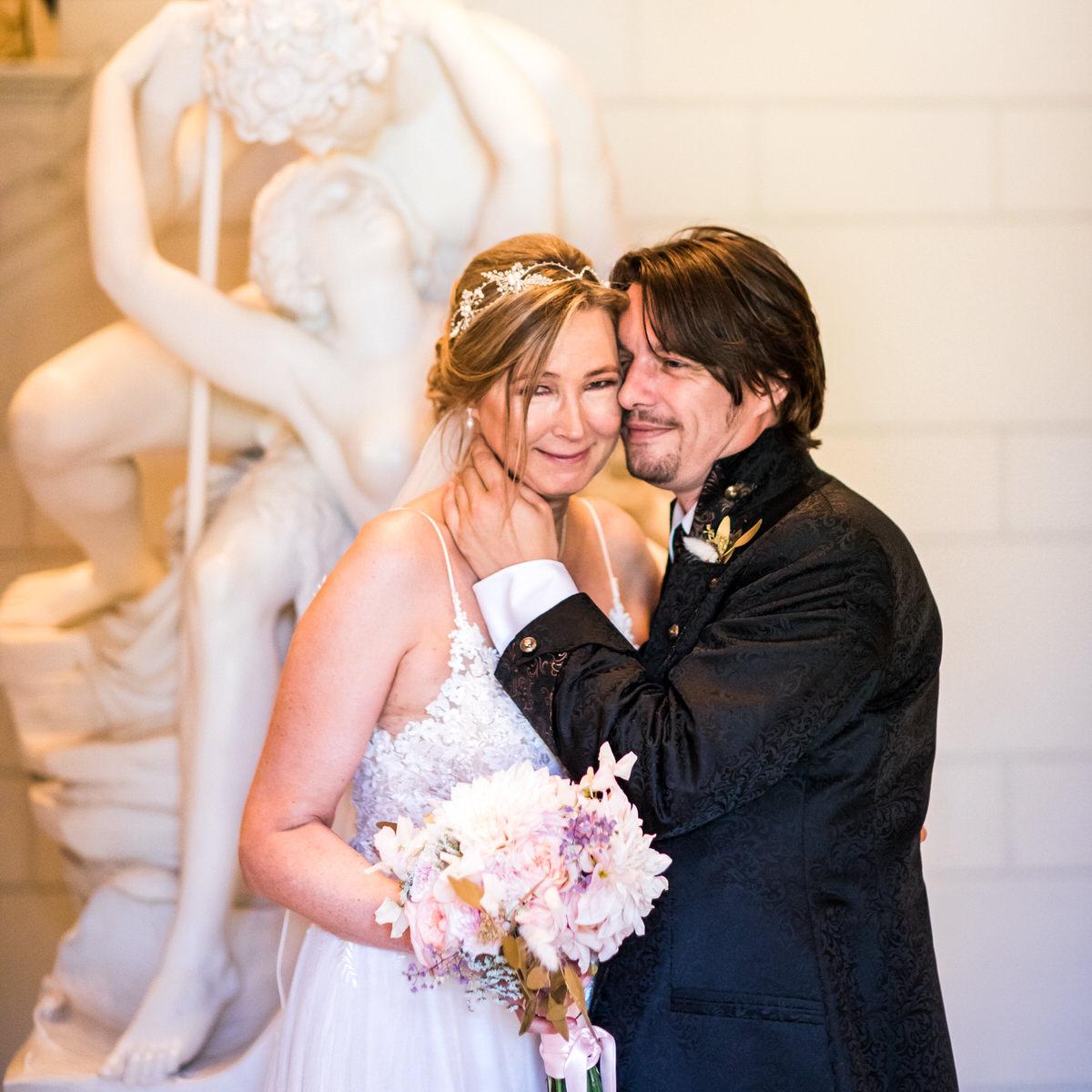 Brautpaar im Jenisch Haus
