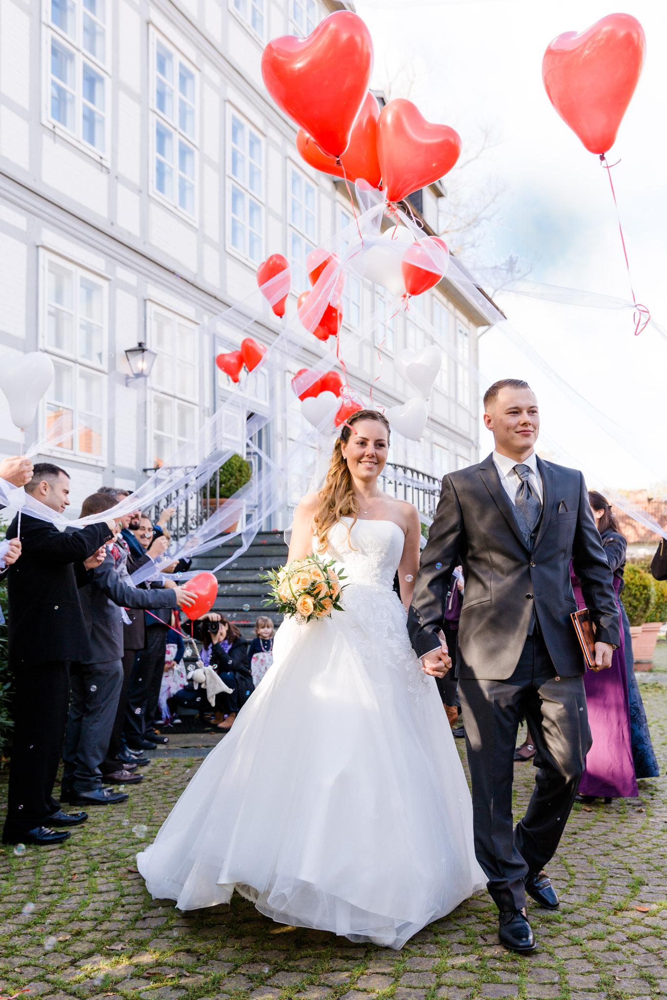 Hochzeit Karina & Christopher auf Schloss Lüdersburg Glückwünsche