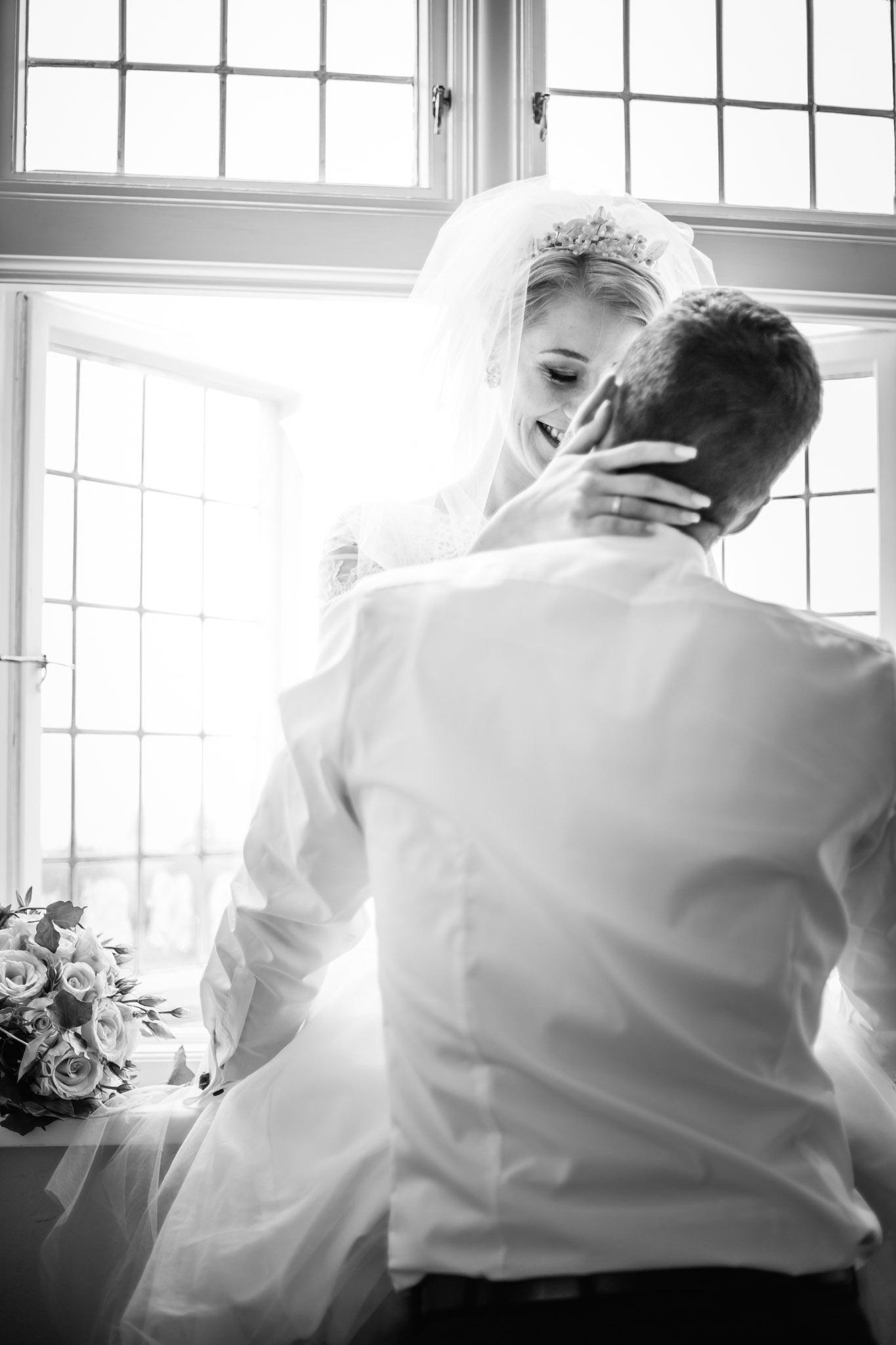 Paarshooting in der Hochzeitssuite