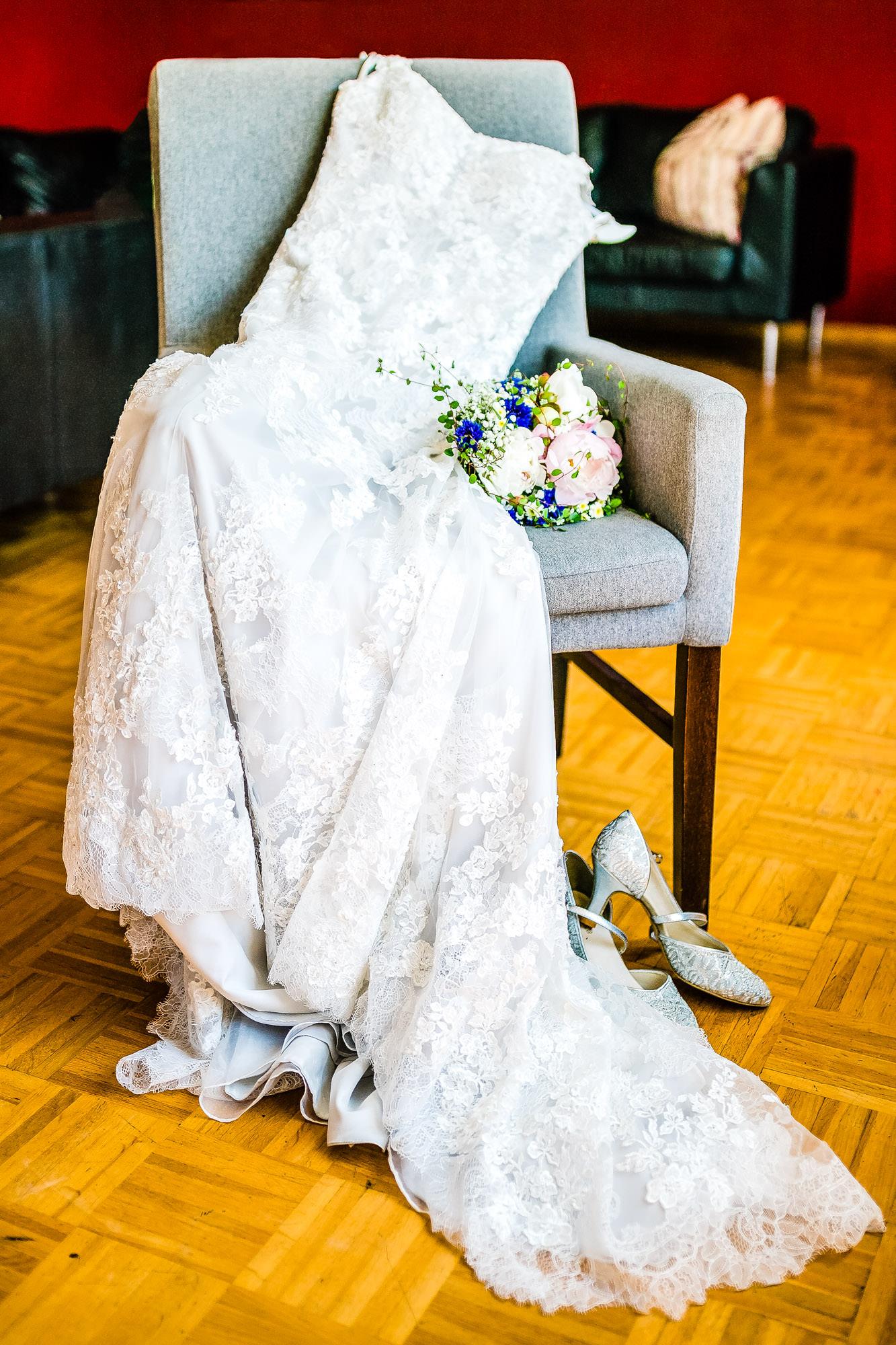 Getting Ready auf dem Eggershof Soltau - Hochzeitsfotograf FOTOFECHNER