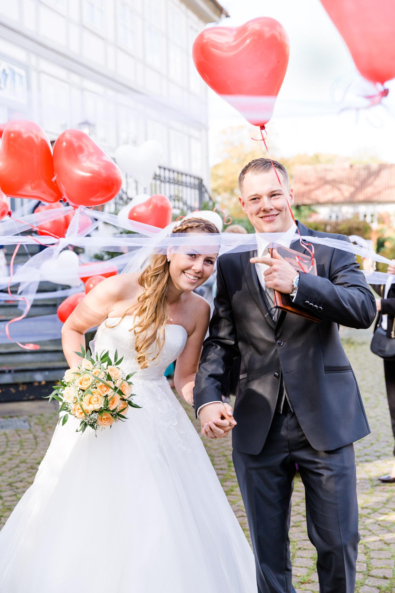 Hochzeit Karina & Christopher auf Schloß Lüdersburg 14