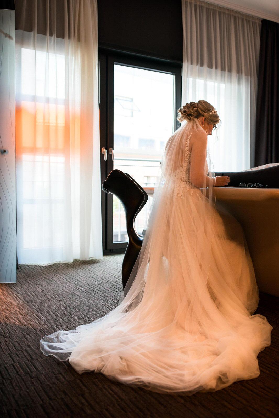 Braut im East Hotel Hamburg