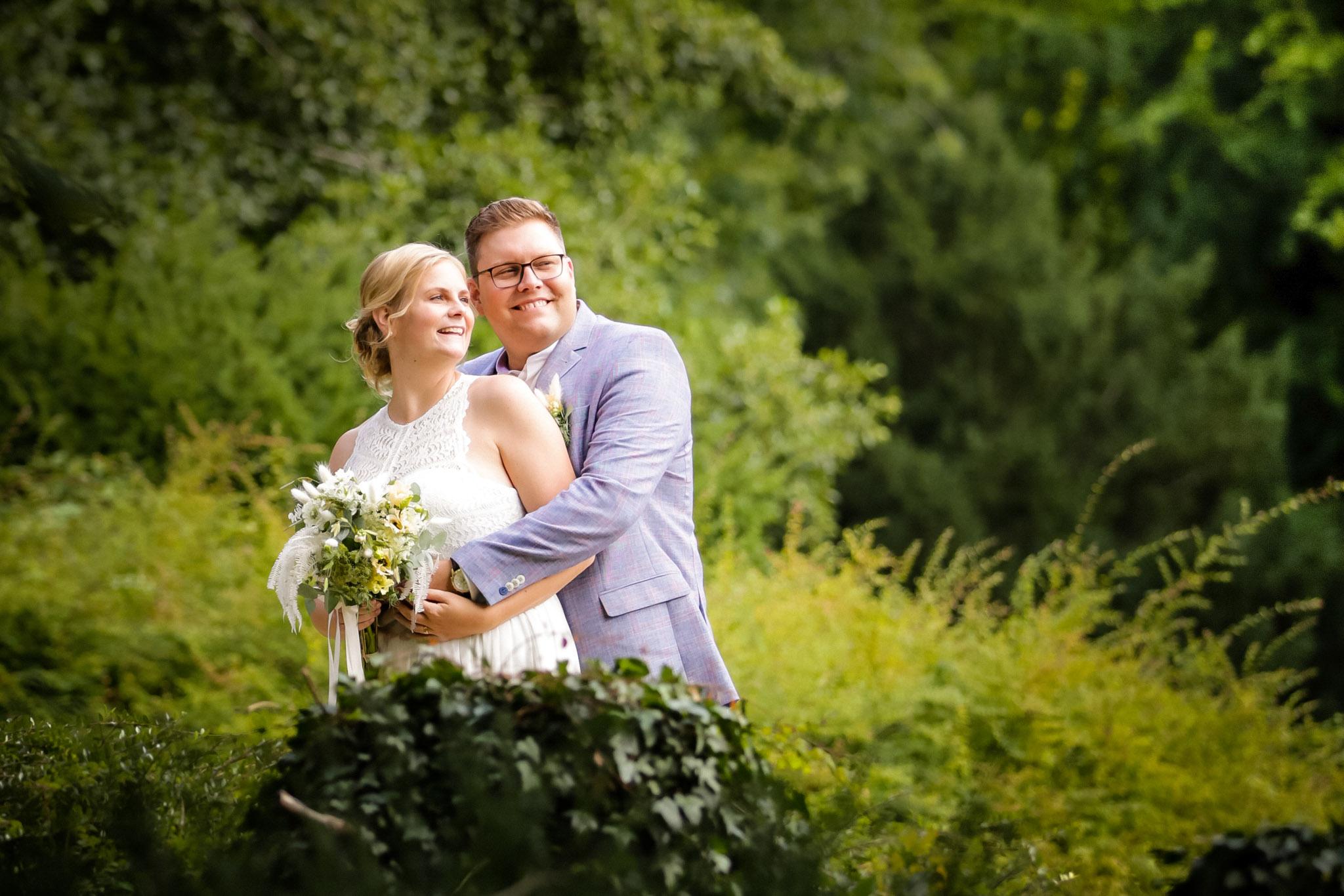 Paar beim Brautpaar Shooting