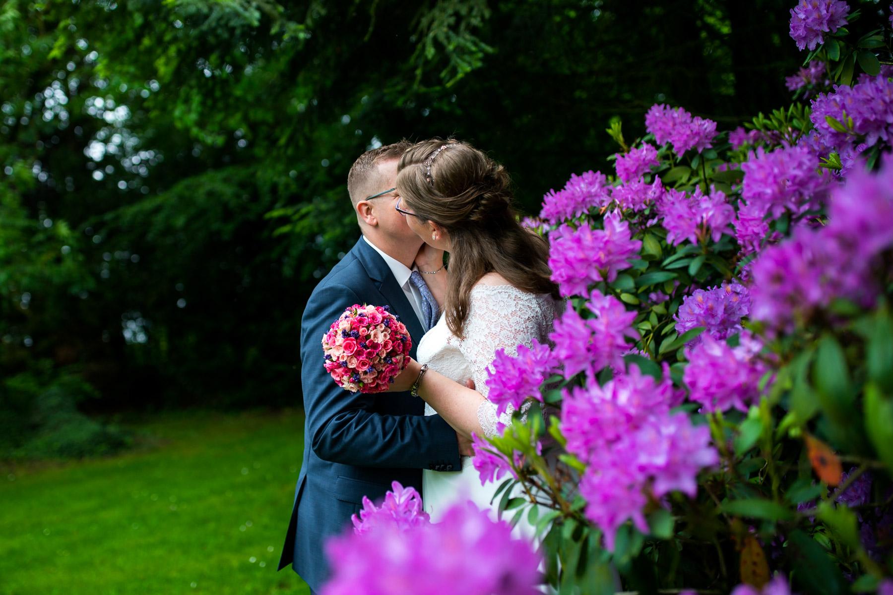Brautpaarshooting auf Gut-Basthorst