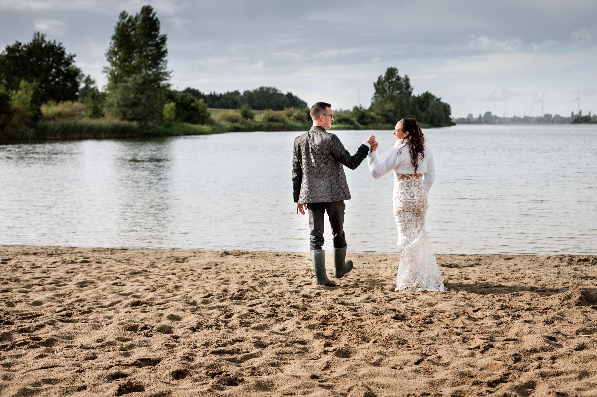 Brautpaar beim Paar Shooting