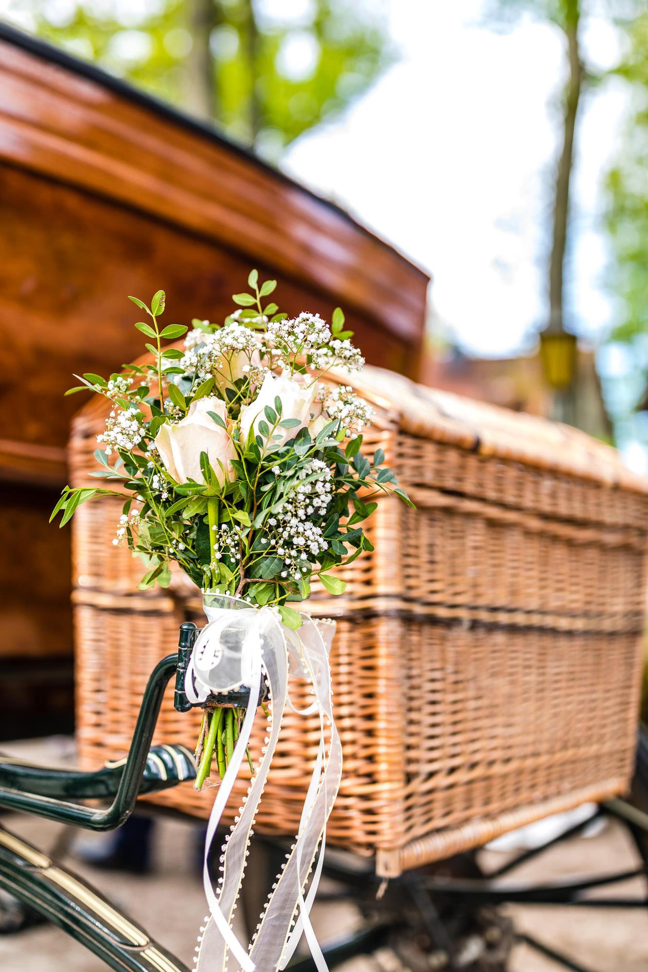 Hochzeitskutsche in der Lüneburger Heide
