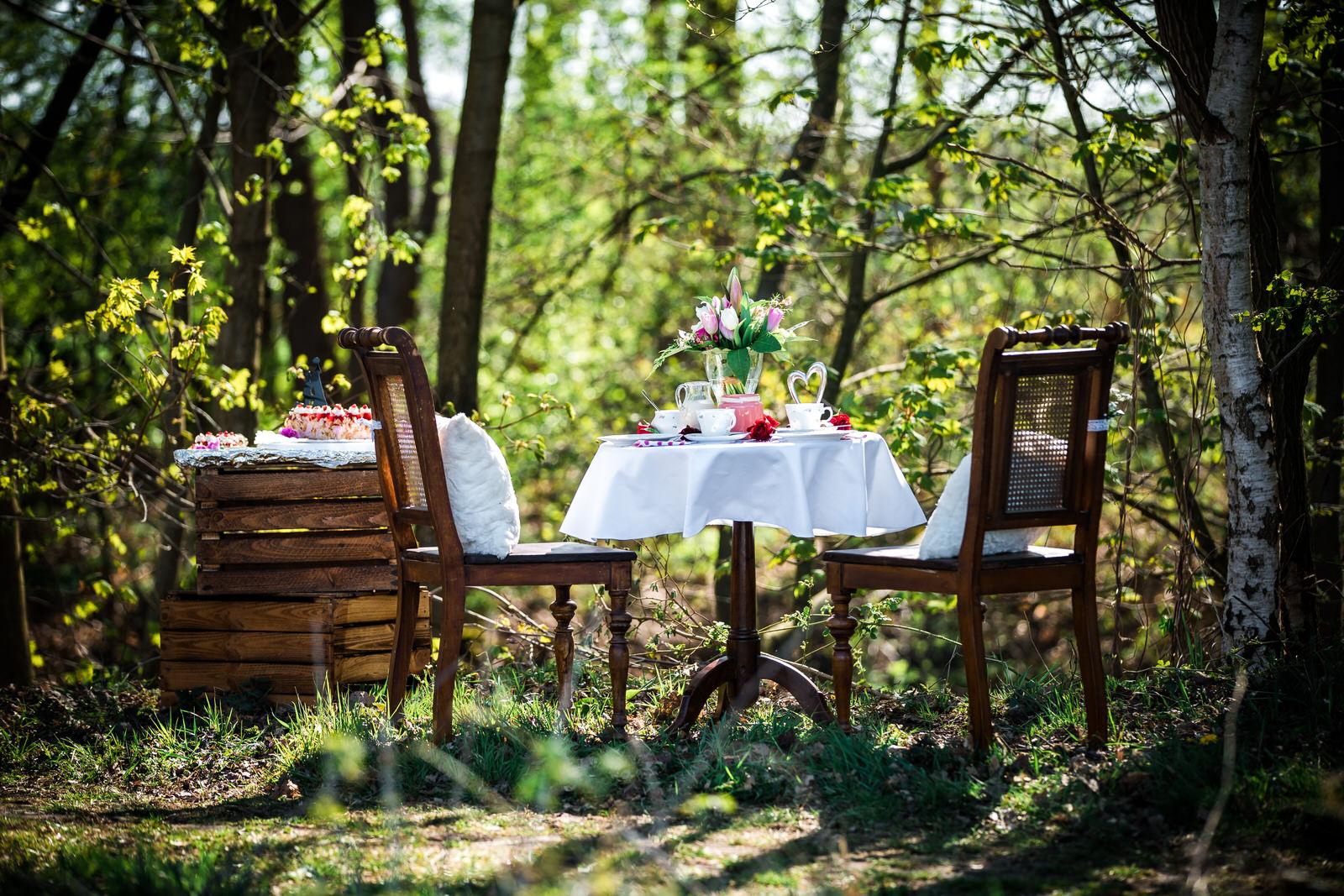 Romantik pur - Vintage Hochzeit in der Natur