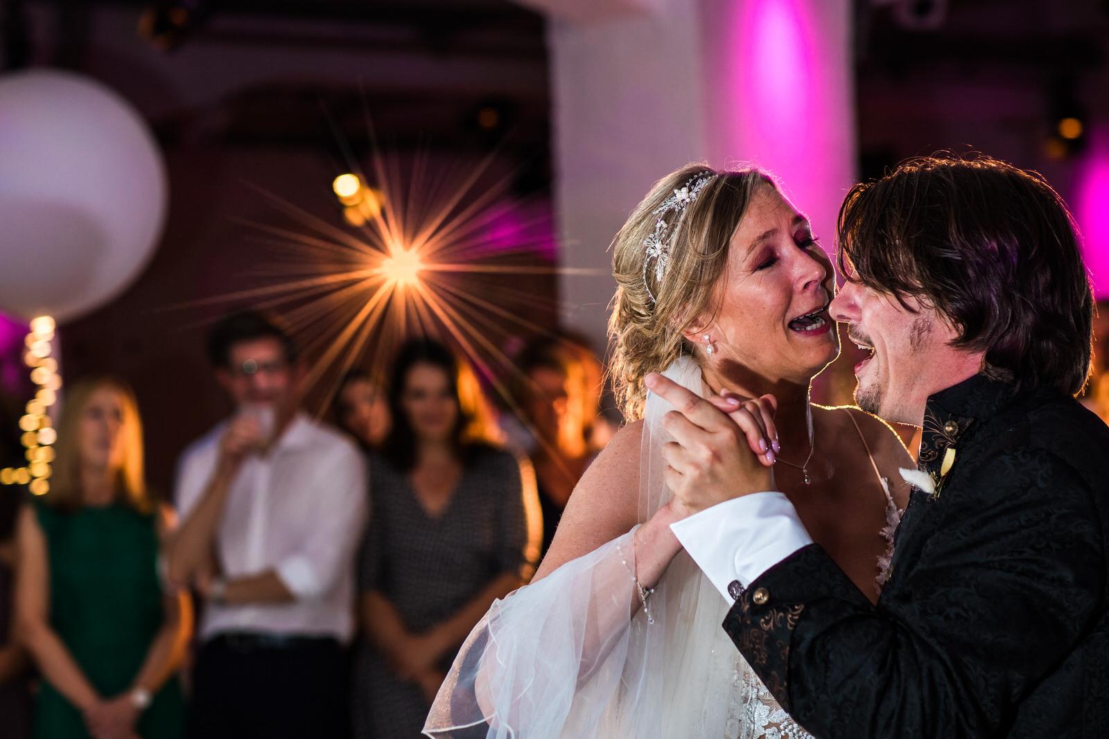 Hochzeitstanz im Altonaer Kaispeicher Hamburg