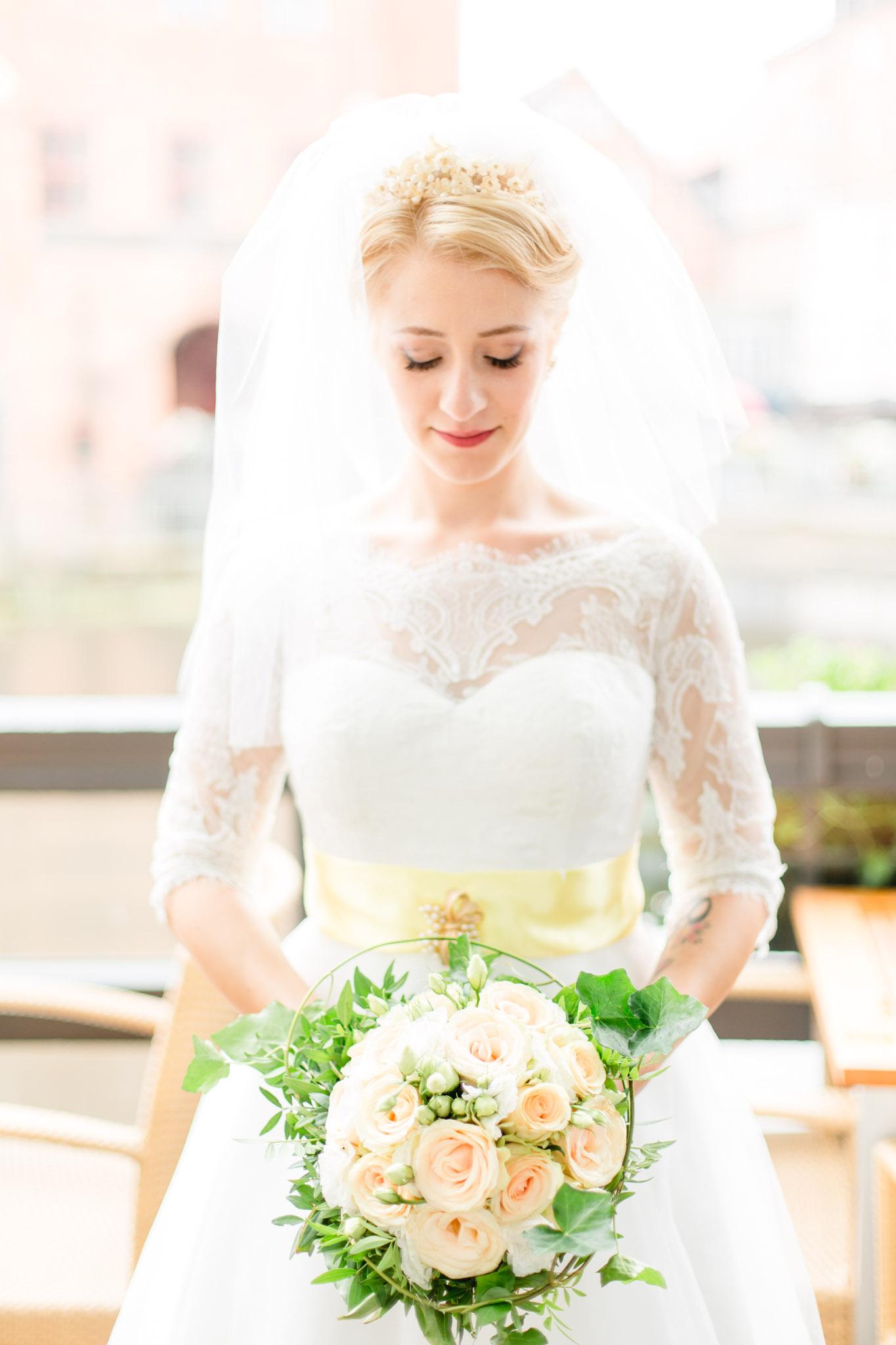 Braut in Lüneburg