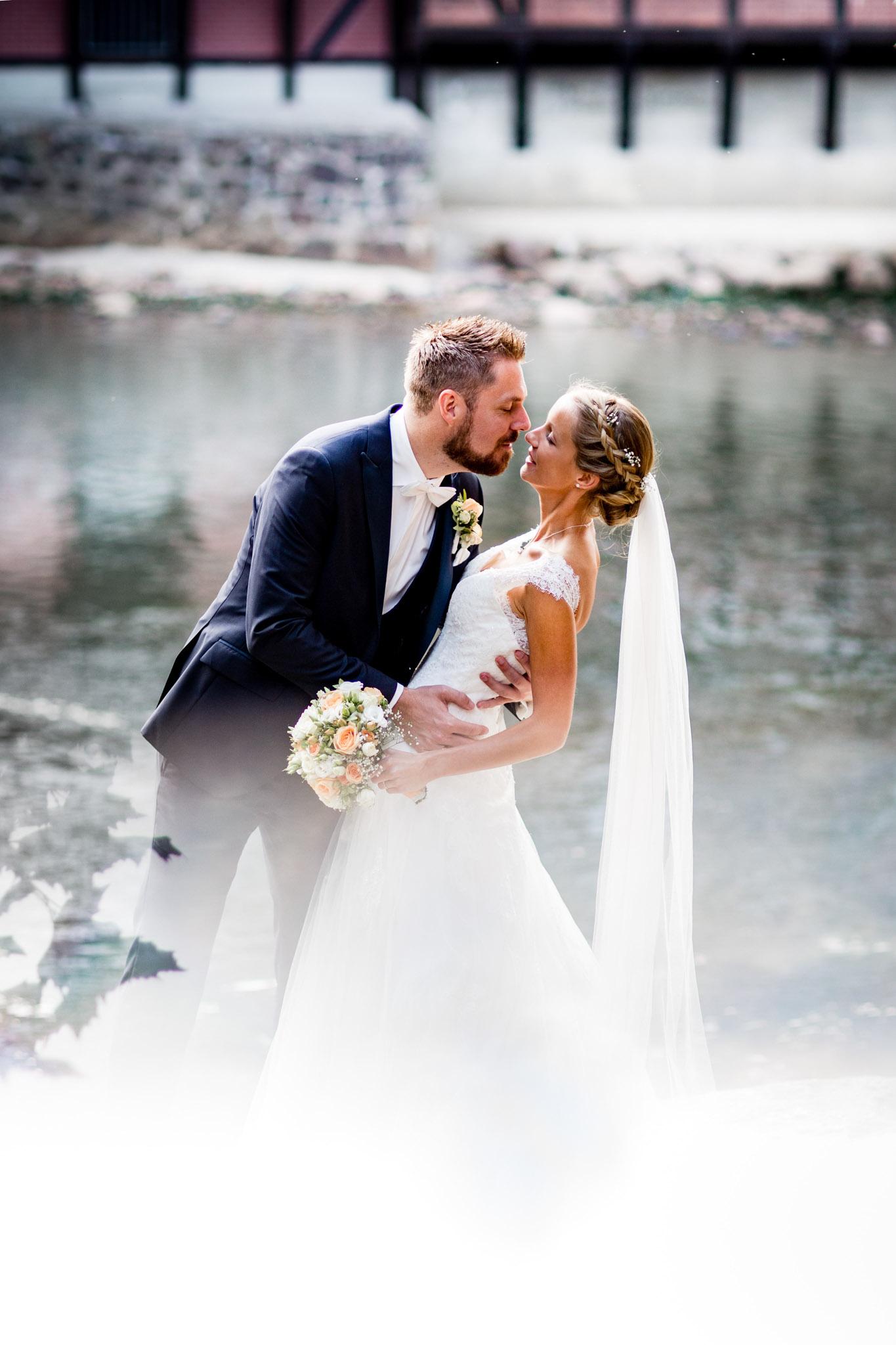 Brautpaarshooting an der Ilmenau
