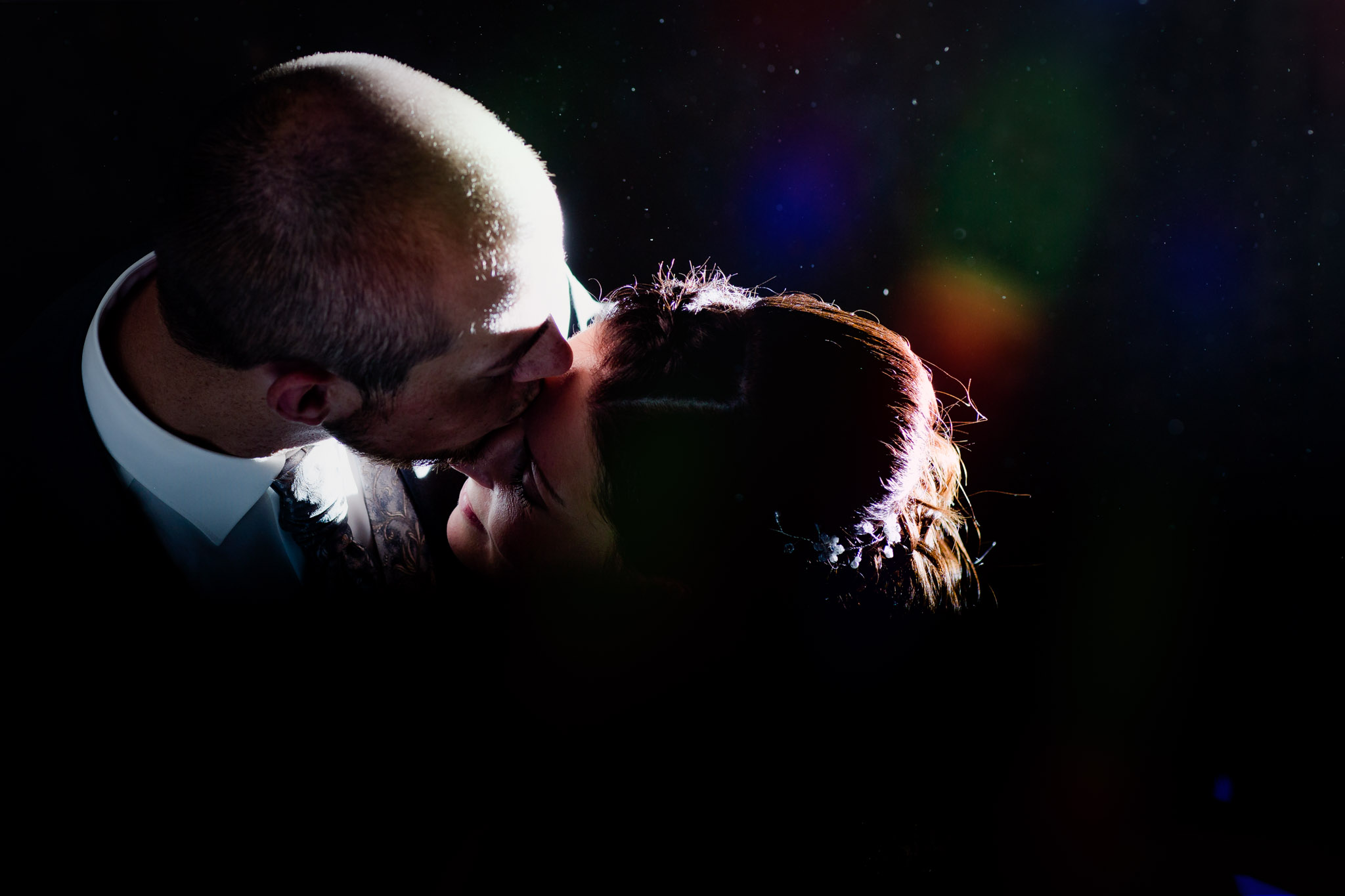 Brautpaar beim Shooting im Wasserturm