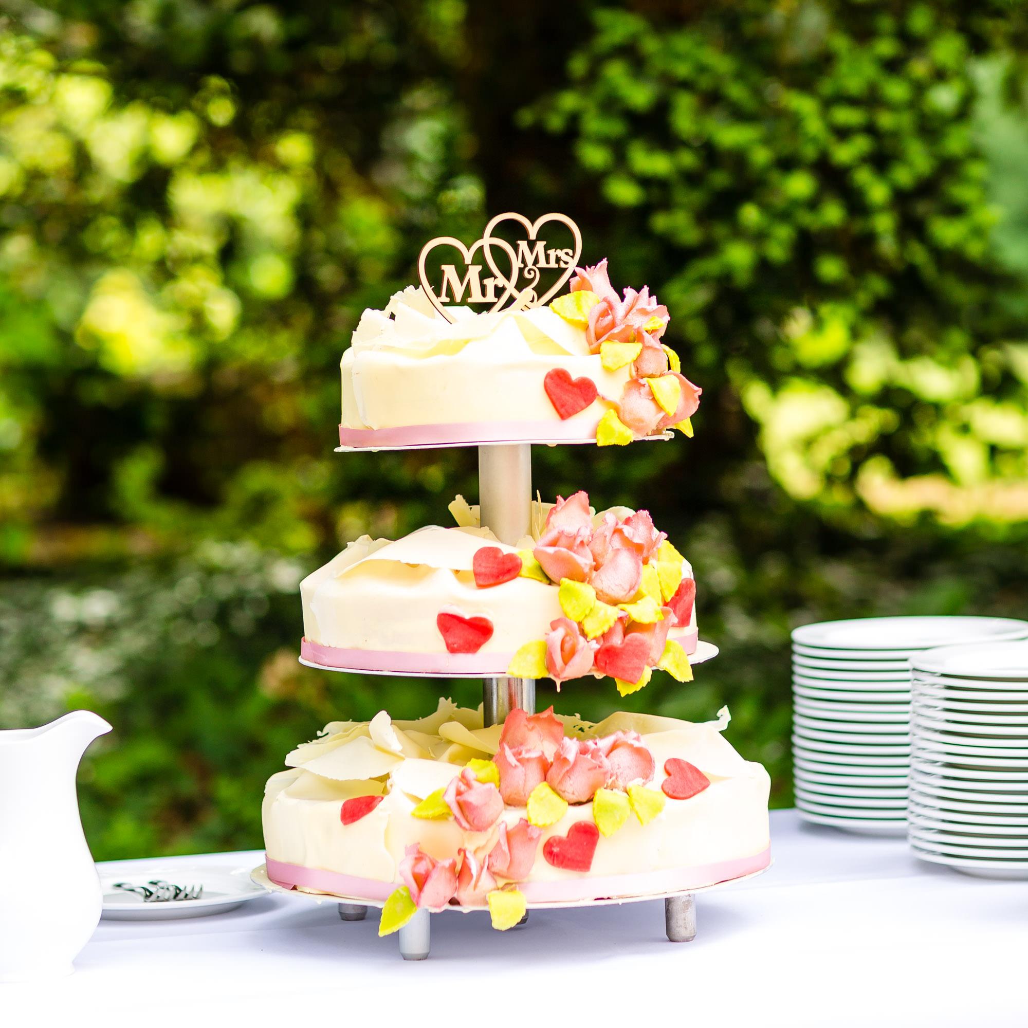 Hochzeitstorte auf Schloss Eldingen
