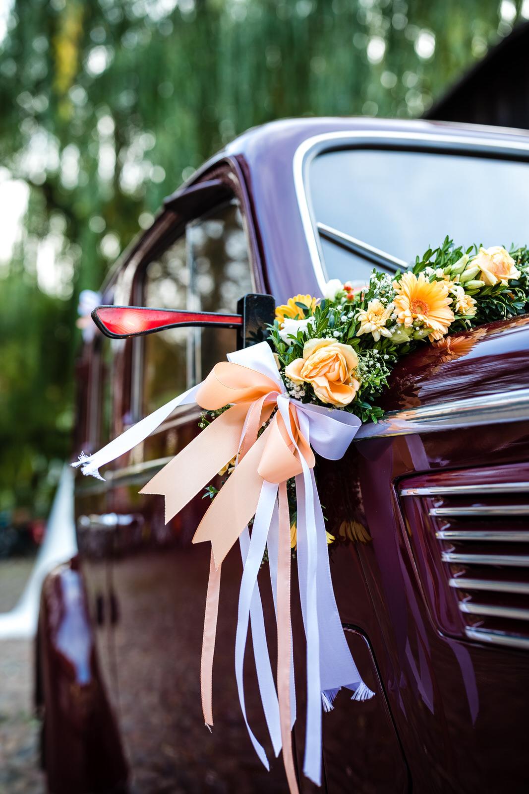 Oltimer Brautpaarauto