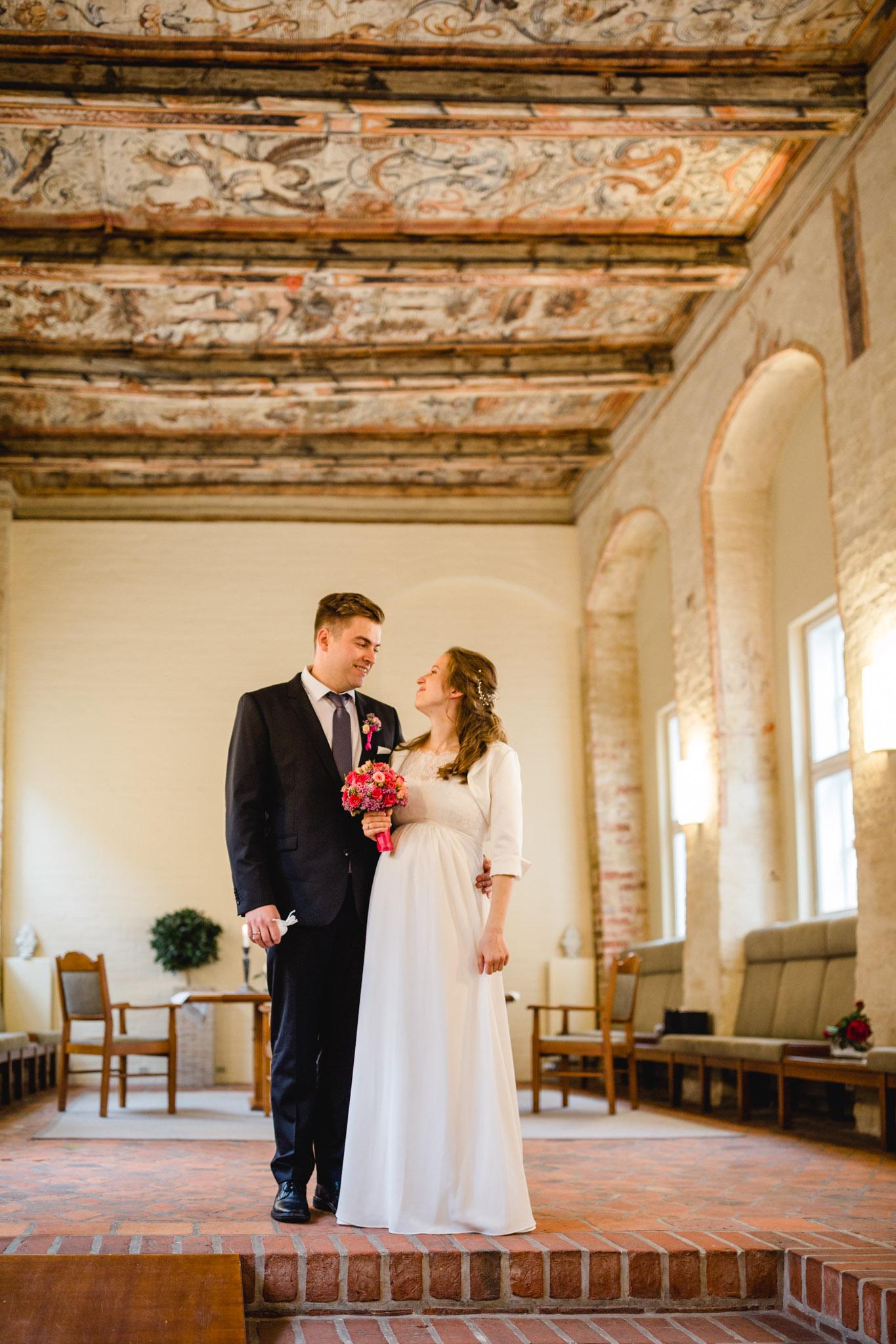 Brautpaar im Heinrich Heine Haus Lüneburg