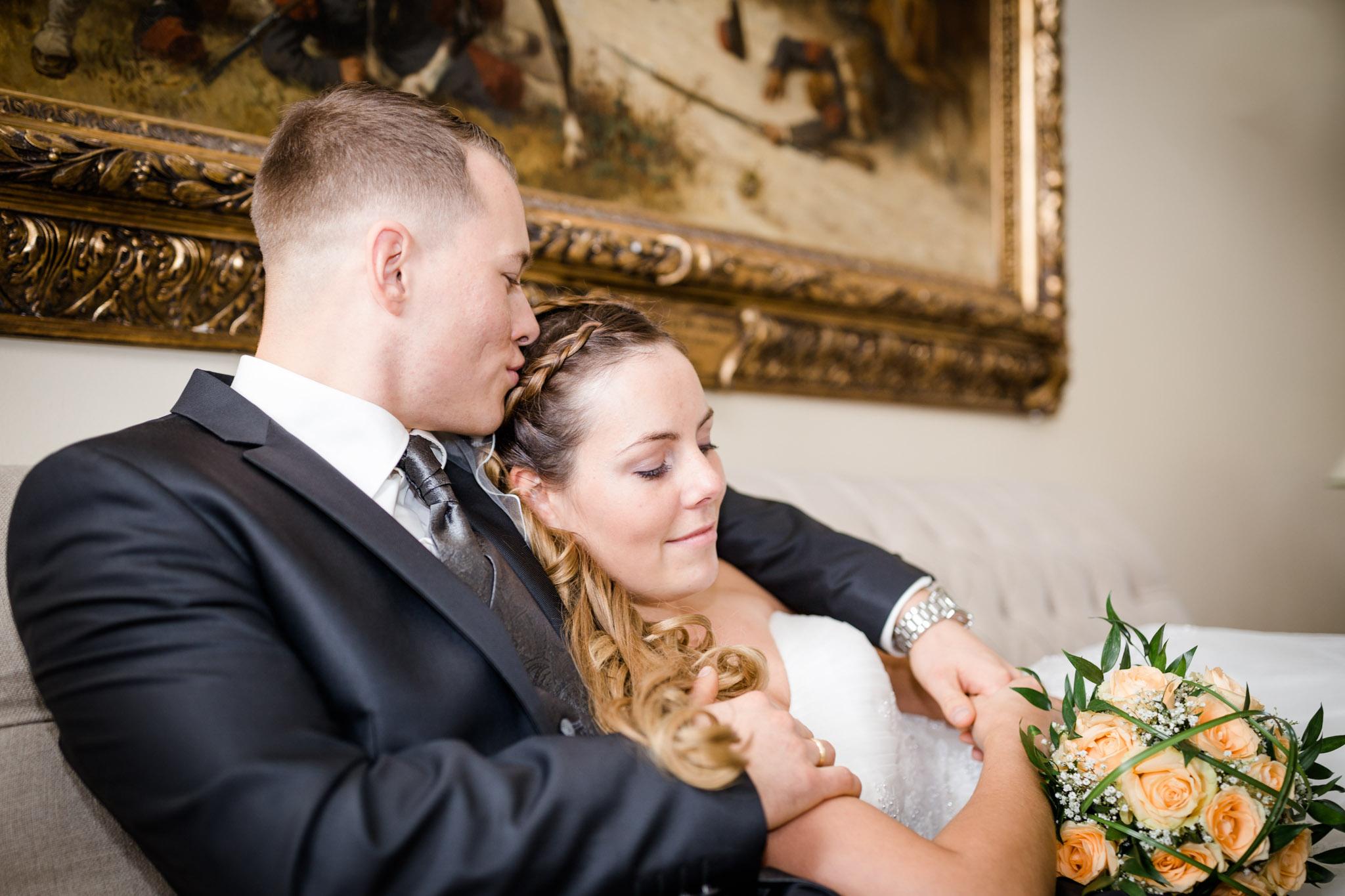 Hochzeit Karina & Christopher auf Schloß Lüdersburg Paarmoment