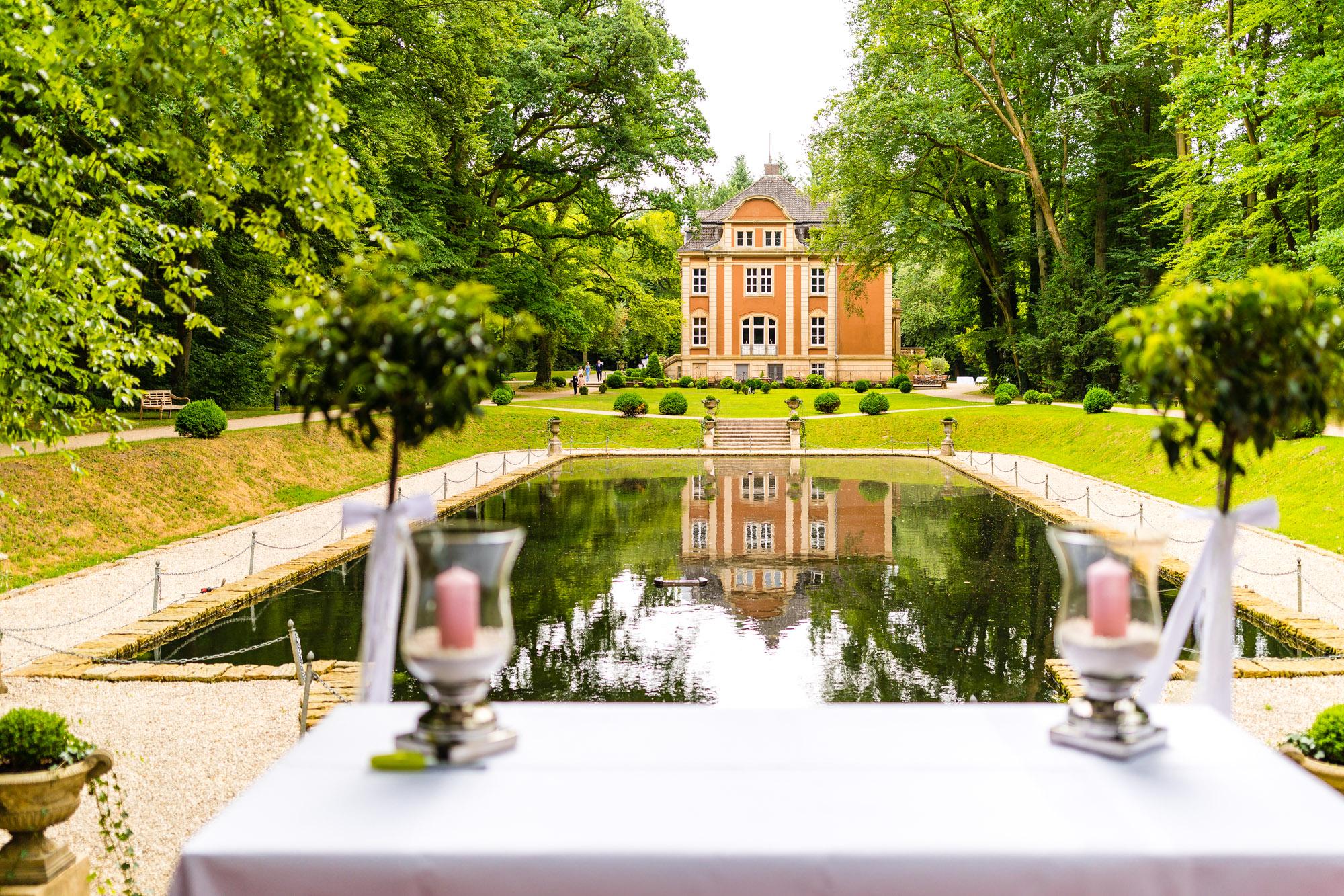 Schlosspark für freie Trauungen in Eldingen