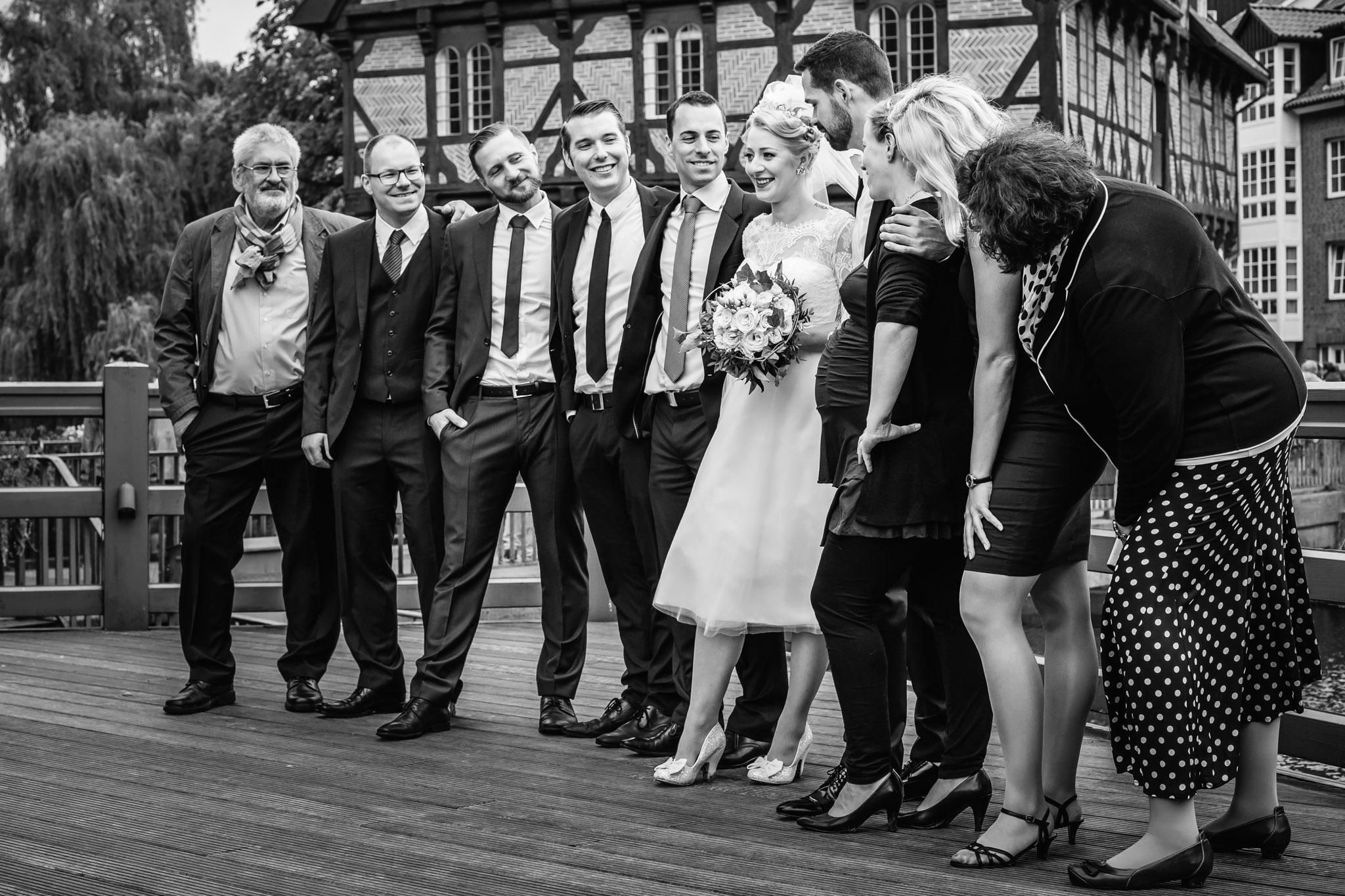 Hochzeitsfoto in Lüneburg