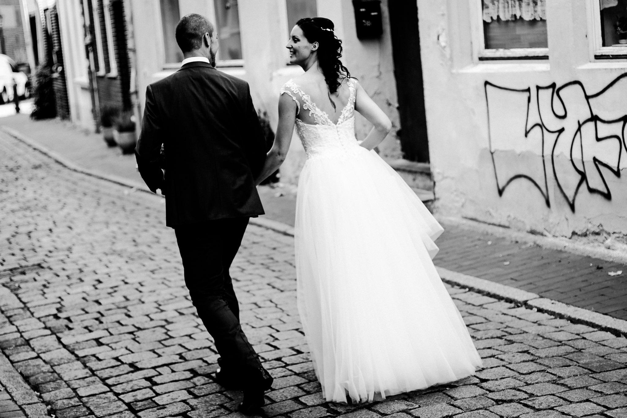 beim Brautpaar Shooting