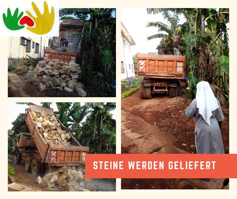 Fortschritte Zaunbau und Spendenaufruf