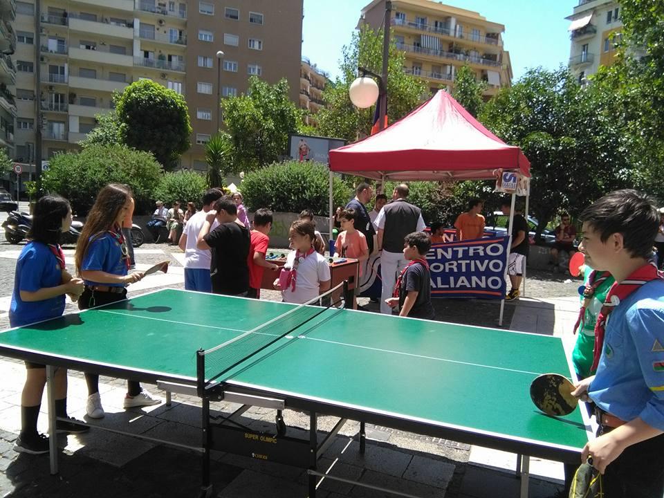 le gare a ping pong