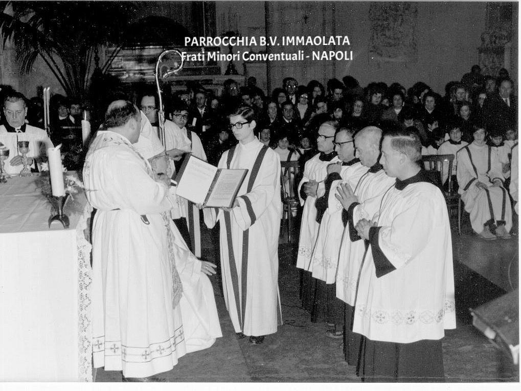 Accolitato di fr. Egidio e confratelli.