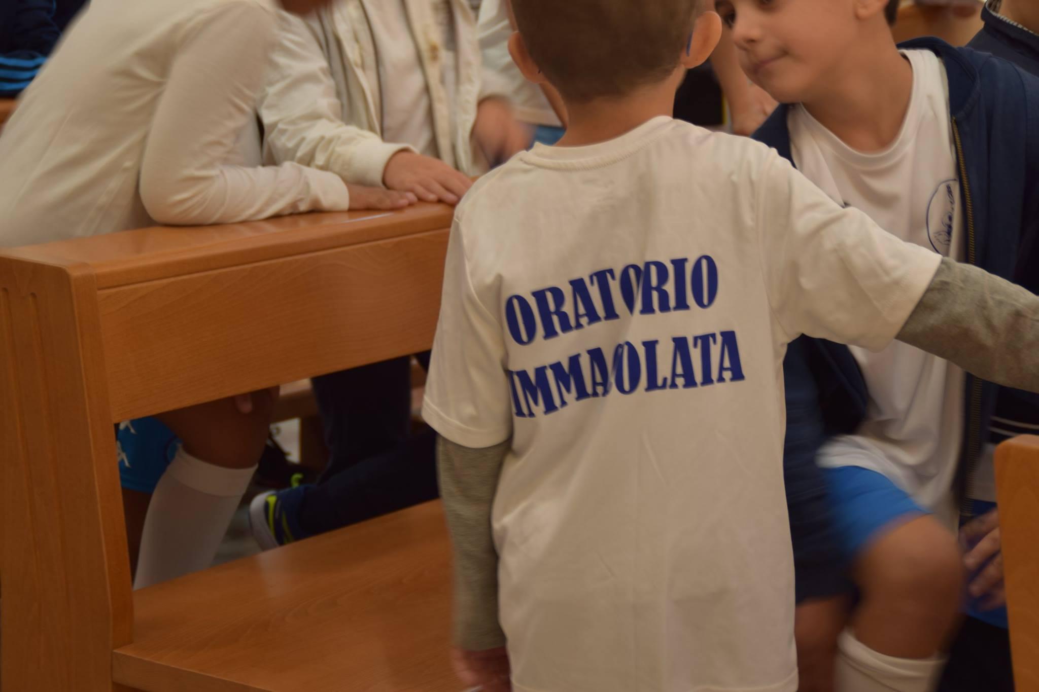 oratorio in chiesa