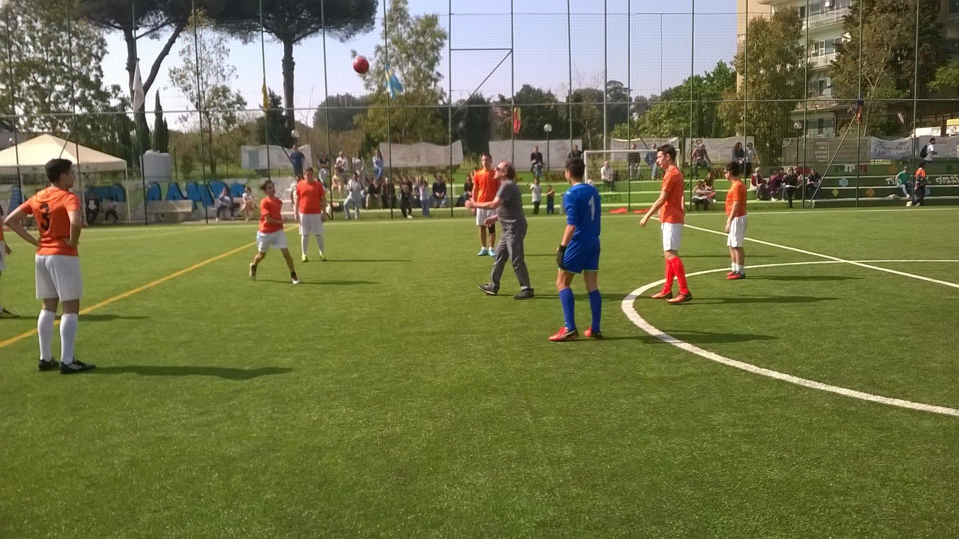 VICE CAMPIONI UNDER 14 SEMIFINALI PROVICIALI CSI Napoli
