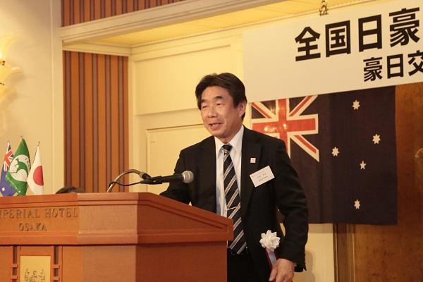 静岡県日本オーストラリア協会 花井会長