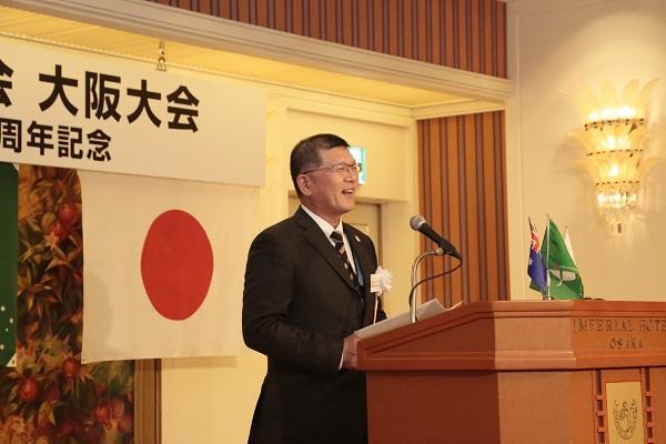 南大阪日本オーストラリア協会 阿久根会長