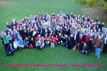 21ème Conférence Internationale de Vision Holistique - Tutzing, Allemagne - 2007 archives association l art de voir - france