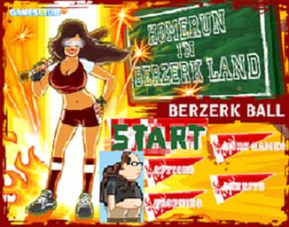 Sur zebest-3000.com, Berzerk Ball : dégage ton porc...