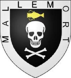 Blason de la ville de Mallemort dans le département du 13, Bouches-du-Rhône.