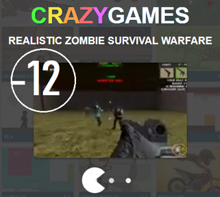 crazygames.com/Realistic Zombie Survival Warfare : augmente le son !