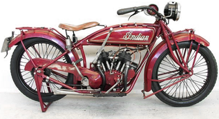 Indian Scout 1920 de Yesterdays Antique Motorcycles