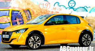 Nouvelle Peugeot 208 | 07/10/2019 Jalil Chaouite pour ABCmoteur.fr